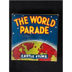 "Castle Films 8mm Complete Edition Film Reel mint in box ""The World Parade"""
