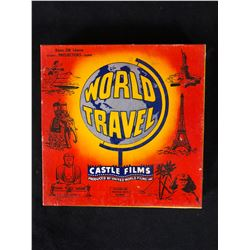 "Castle Films 8mm Complete Edition Film Reel mint in box ""World Travel"""