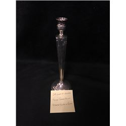 SILVER CANDLE HOLDER (248 GRAMS OF SILVER)