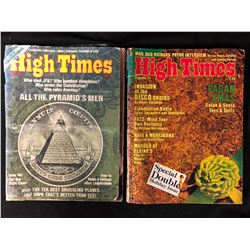 HIGH TIMES MAGAZINES LOT