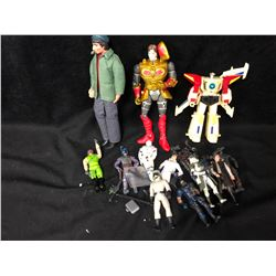ACTION FIGURE LOT INCLUDING WELCOME BACK COTTER FIGURE