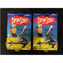 MINT ON CARD CAPTAIN SCARLET TOY LOT