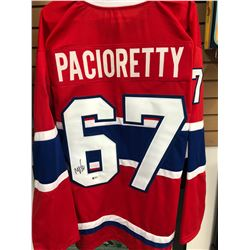 Max Pacioretty Signed Canadiens Jersey (Beckett COA)