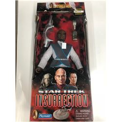 1998 Lt. Commander Worf Figure Star Trek Insurrection Collectors Series