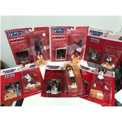 STARTING LINE UP BASKETBALL ACTION FIGURES LOT