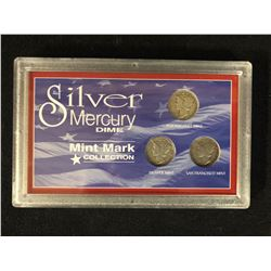 SILVER MERCURY DIME (MINT MARK COLLECTION)