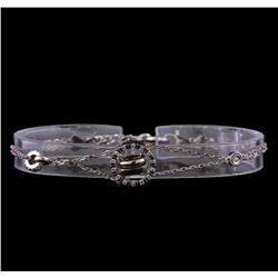 0.44 ctw Diamond Bracelet - 14KT White Gold