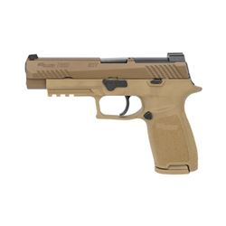 """SIG P320F M17 9MM 4.7"""" 17RD COYOTE"""