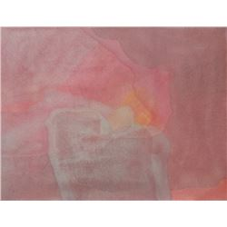 Donald Gerola, Abstract Rose, Sand Fresco Painting