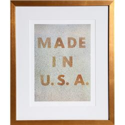 Ed Ruscha, America: Her Best Product (Made in U.S.A.), Offset Lithograph
