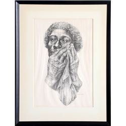 Charles White, Ye Shall Inherit the Earth, Offset Lithograph