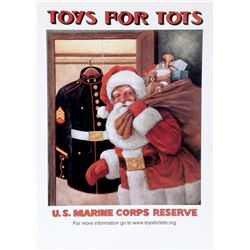 Keith McConnell, Toys for Tots (Large), Poster