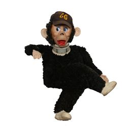 Curious George, Life Size Polyester Vintage Stuffed Animal