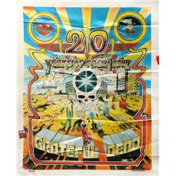 Gary Kroman, Grateful Dead - 20 Years of Rock and Roll, Silk Tapestry