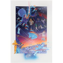Melanie Taylor Kent, Star Wars, Serigraph with Remarque