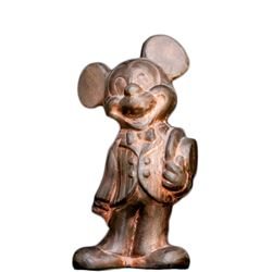 Chris Silliman, Mickey Mouse in Suit, Ceramic Sculpture