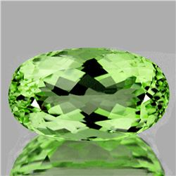Natural Canary Green Apatite 7.56 Carats - Flawless