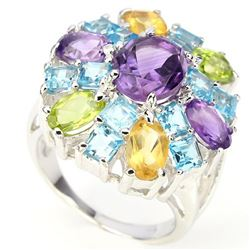 Natural Gemstone Ring