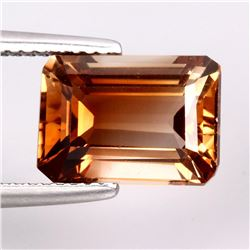 Natural Top Champagne Imperial Topaz Brazil 12x9 MM