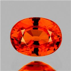 NATURAL REDDISH ORANGE SAPPHIRE 1.35 Ct  - FL