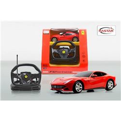 Ferrari - Radio Control Car and Sterling Wheel F-1