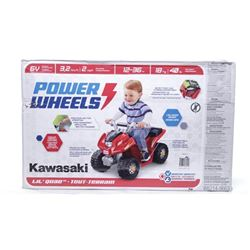 Power Wheels - Kawasaki 6 Volt. 12-36 months (SXR)