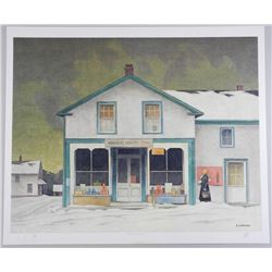 A.J. Casson (1898-1992) Litho 'Annabelle's General