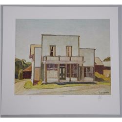 A.J. Casson (1898-1992) Litho From Casson Casson's
