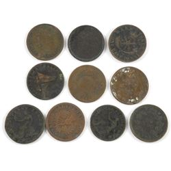 Estate Lot (10) Coins - Unidentified.