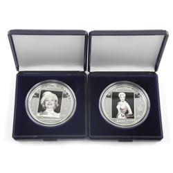 Lot (2) 925 Sterling Silver Hollywood Legends 5-Do