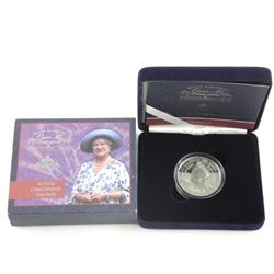 Queen Elizabeth .925 Silver Proof Crown 1900-2000