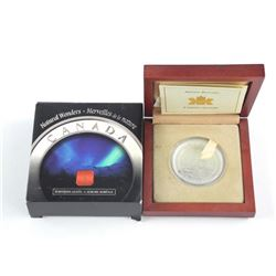 Natural Wonders - Fine Silver Coin 'NORTHERN LIGHT