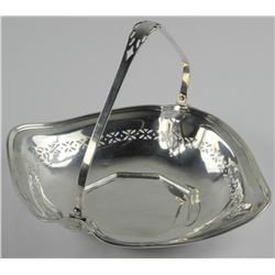 Estate Sterling Silver Serving Tray w/Handles 150G