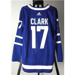 WENDEL CLARK - TML Pro Jersey Signed with C.O.A.