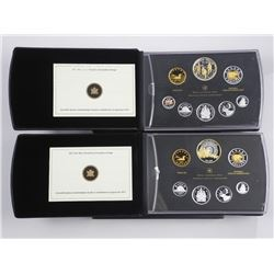 Lot (2) RCM - Fine Silver Proof Mint Set, 2012 and