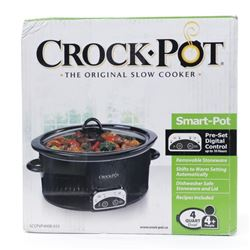 Crockpot SCCPVP400B-033 Smart-Pot Digital Slow Coo