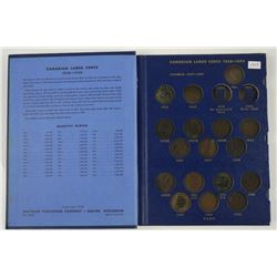 Estate Canada Large One Cent Collection 1858-1920