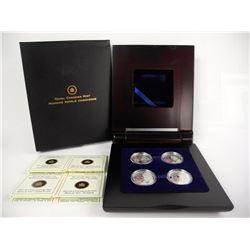 .9999 Fine Silver $4.00 - 4 Coin Set Heroes of 181