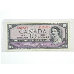 Bank of Canada 1954 Ten Dollar (VF) BC-32b (B/C)