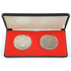 ONTARIO - Governor General 2 Coin Set, 1x925 Silve