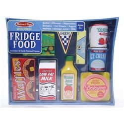 Melissa and Doug Wooden Fridge Food.
