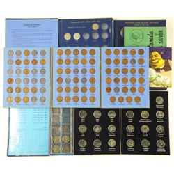 Estate Lot Coin Books, Mixed Partial Collections: