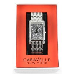 Ladies Caravelle New York Designer Watch with Swar