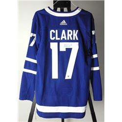 Wendel Clark TML Jersey PRO Weight, Signed with C.