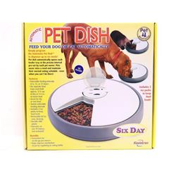 KOOLATRON Pet Dish Six Day Feeder (PT)