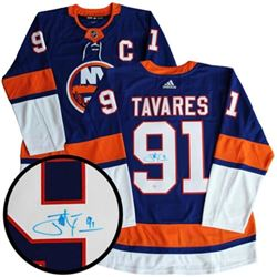 John Tavares (NYI) Jersey, Signed with C.O.A. (OXR