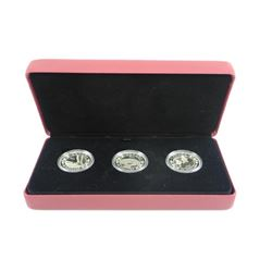 Royal Baby Gift Set 3 x .9999 Fine Silver $20.00 C