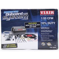 VIAIR Onboard Air Tank System 1.53cfm. 10% Duty 10