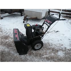MTD Spirit 8hp snowblower, electric start