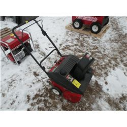 MTD 2-stroke snowblower